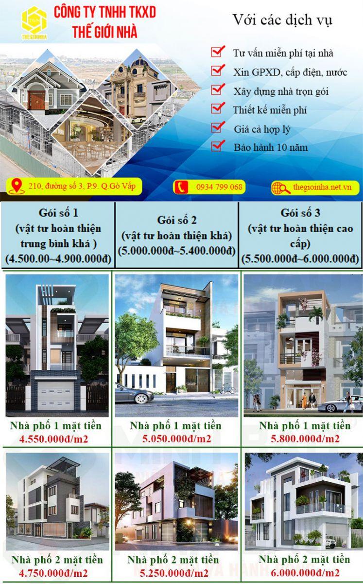 Báo giá xây dựng nhà trọn gói tại Gò Vấp-05