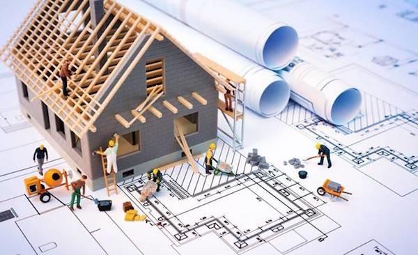 Thầu xây dựng nhà ở gia đình trọn gói tại quận 12-01